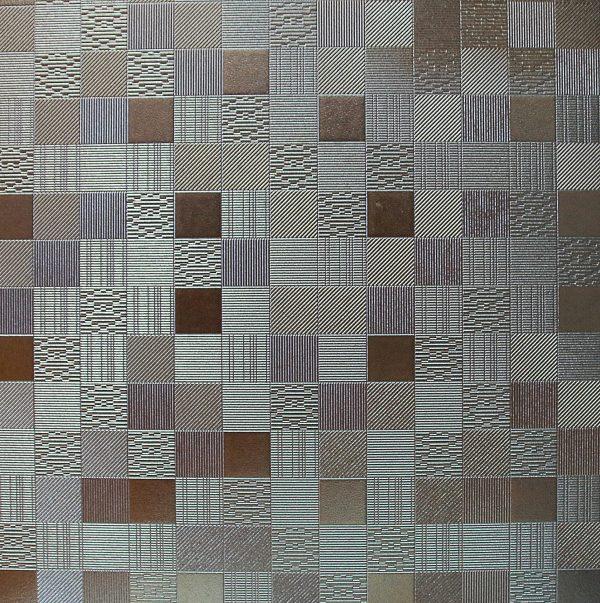 600x600 Metallic checker