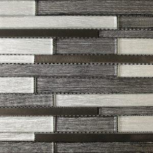 8TW1295 Black Silver Sparkle