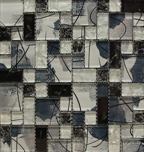 Blue-Black Pattern