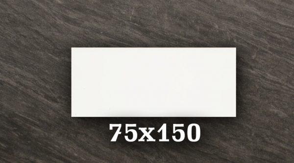 GLOSS WHITE 75X150