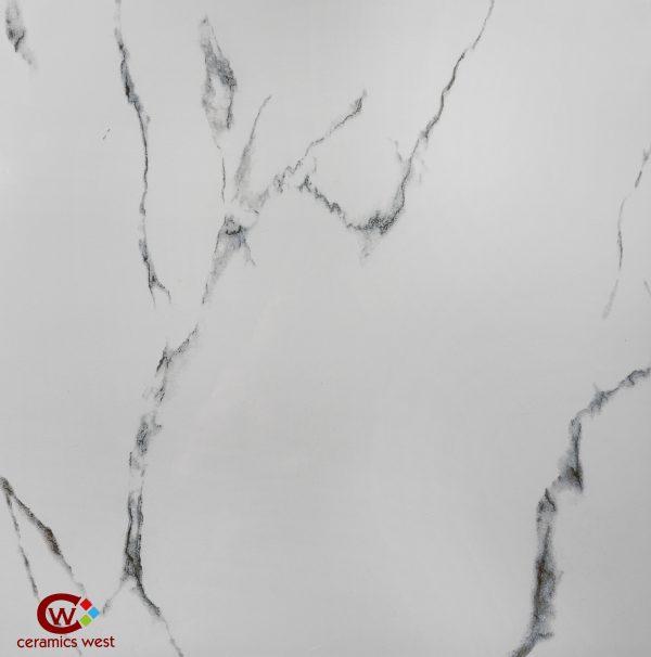 600x600 White/Dark Marble